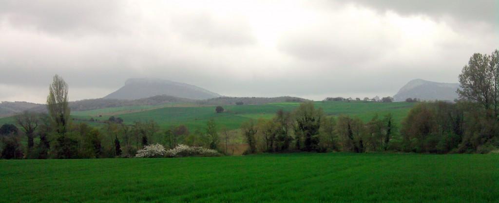 Vista de Tolga (Bujanda, Campezo)